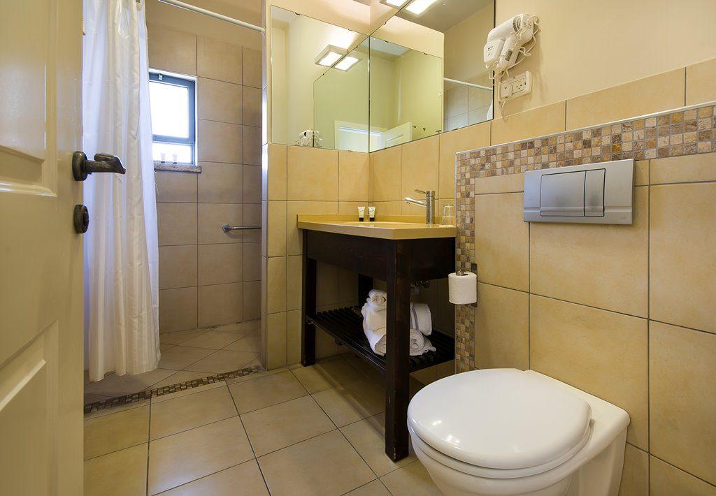 מקלחת ושירותים בחדר עסקי כרמל