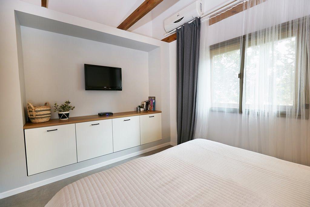 חדר שינה בבקתה זוגית